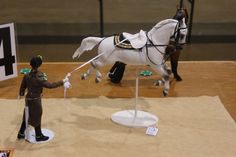 An old Breyer Fighting Stallion customized! He is awesome!