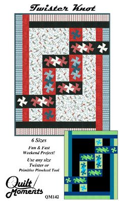 Twister Quilt Pattern Directions : 1000+ images about Twister Quilts on Pinterest Twister quilts, Pinwheels and Texas flags