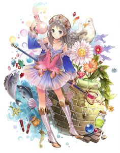 Promotional illustration from Atelier Totori: The Adventurer of Arland