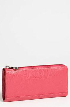 Longchamp Leather Wallet available at #Nordstrom