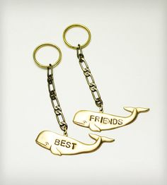Best Friends Keychains