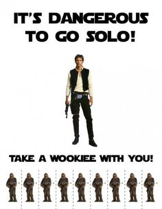 Take a wookiee!