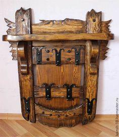 Вешалка № 3 и № 4 в старинном стиле – купить в интернет-магазине на Ярмарке Мастеров с доставкой - 4XOT1RU | Омск