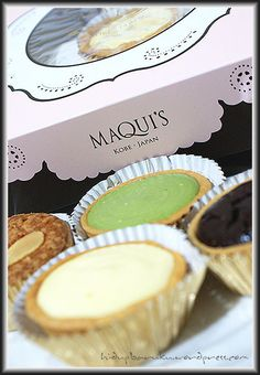 My favorite cake ever! it's mini cake from Maqui's, Kobe Japan. The price is quite expensive for a mini cake but it tastes really good