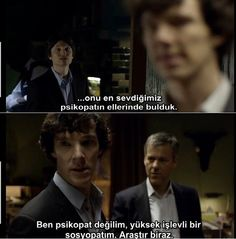 "Series 1 Episode 3 ""The Reichenbach Fall"" Sherlock..Sherlock"