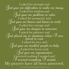 God always answers prayer not our will but may God's will be done.