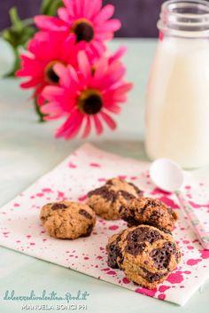 Biscotti Vegan con scaglie di cioccolato