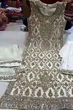 Hand Embroidered Festive Salwar suit also with four sided embroidered dupatta Designer Bridal Lehenga, Indian Bridal Lehenga, Red Lehenga, Anarkali, Pakistani Dresses Online, Pakistani Outfits, Indian Dresses, Indian Outfits, Pakistani Clothing