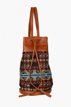 Tribal Backpack in Brown | Necessary Clothing