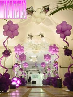 These balloon trees are so cool!