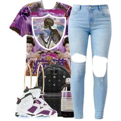 Leanin' by queenbrittani on Polyvore featuring polyvore fashion style MCM Brooks Brothers NIKE