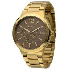 950225ce3b3 Relógio Euro Feminino Mappen EU6P79AA 4M