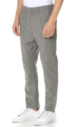 CAMO Шерстяные брюки Eclypse с эластичным поясом