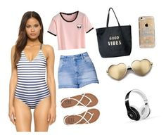 """SUMMER VIBES"" by demonchild1183 on Polyvore featuring Clover Canyon, Kendall + Kylie, Billabong, Venus, Agent 18, Wildfox and Beats by Dr. Dre"