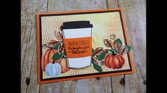 Fall Coffee Lovers Blog Hop 2017 | Stampin' Up Merry Cafe