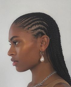 Black Girl Braided Hairstyles, Black Girl Braids, African Braids Hairstyles, Braids For Black Hair, Girls Braids, Black Women Hairstyles, Protective Hairstyles, Protective Styles, Cornrows Natural Hair