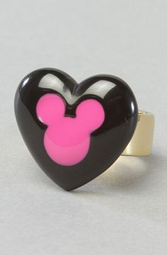 Disney Couture Jewelry  The Minnie x Mawi Heart Ring