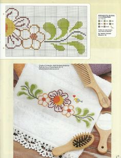 This Pin was discovered by Arl Beaded Cross Stitch, Cross Stitch Borders, Cross Stitch Flowers, Cross Stitching, Cross Stitch Embroidery, Cross Stitch Patterns, Blackwork Patterns, Macrame Plant Hangers, Coloring Pages For Kids