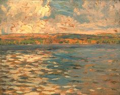 A.Y. Jackson, 1913;  Lake