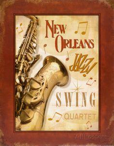 New Orleans Jazz II Poster von Pela bei AllPosters.de
