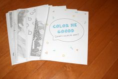 Personalized coloring book using your own photos from CRAFT