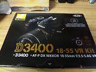 Nikon D3400 Digital SLR Camera 18-55mm AF-P VR Lens (New Model)-Brand New Seale