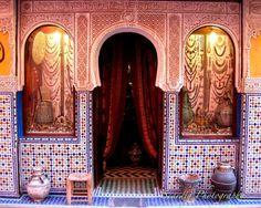 Marrakech Morocco Door. Moroccan Decor. Colorful Tiles. by seardig, $22.00