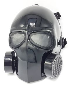Amazon.com : Invader King Flat White Airsoft Mask Army of Two Protective Gear Outdoor Sport Fancy Party Ghost Masks Bb Gun (G Mask) : Sports & Outdoors