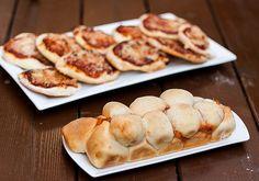מתוקים ומאפים - ענבל רובין | InbalSweets | פיצות אישות ועוגת כדורי פיצה