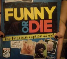Inside My Head..: #Funny or #Die ~ From Hasbro #Giveaway