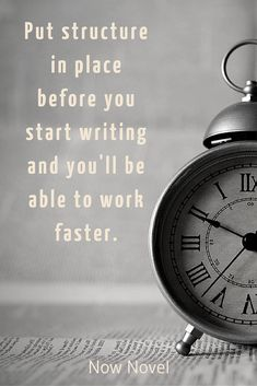 How to write a book fast - the benefits of writing a novel outline