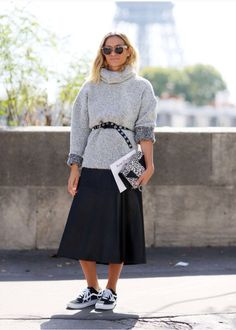 #pfw #turtleneck #outfit