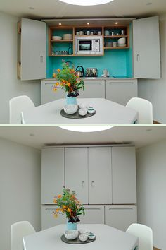 The Fu-Retro Bespoke Kitchenette - another beautiful kitchen that hides itself when not in use