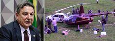 Presidente do PSDB foi gravado pelo empresário Joesley Batista, dono da JBS, pedindo R$ 2 milhões; dinheiro foi entregue a um primo de Aécio Neves em cena filmada pela Polícia Federal, que rastreou o dinheiro e descobriu que ele foi depositado numa empresa do senador Zezé Perrella (PSDB-MG); a família de Perrella é dona do helicóptero com cocaína encontrado com 445 kg de cocaína no Espírito Santo
