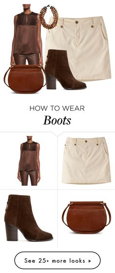 """Skirt and Boot"" by sillycatgrl on Polyvore featuring Mountain Khakis, Ralph Lauren Black Label, MooMoo Designs, Vera Bradley and rag & bone"