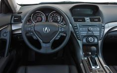 2013 Acura TL interior (Drivers Perspective)
