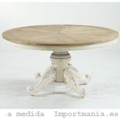 mesa redonda comedor getxo