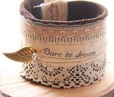 textiel armband cuff bracelet fabric -
