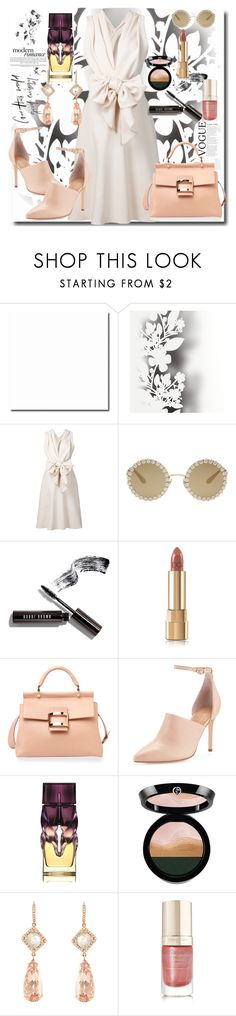 """Untitled #538"" by pesanjsp ❤ liked on Polyvore featuring Élitis, Tome, Dolce&Gabbana, Bobbi Brown Cosmetics, Roger Vivier, Halston Heritage, Christian Louboutin, Giorgio Armani, NSR Nina Runsdorf and Margaret Dabbs"