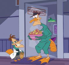 Phineas and Ferb Perry the Platypus Halloween Trick or Treat publicity art Disney Pixar, Disney Memes, Disney And Dreamworks, Disney Cartoons, Phineas And Ferb Perry, Phineas And Ferb Memes, Cartoon Memes, Cartoon Shows, Stupid Funny Memes
