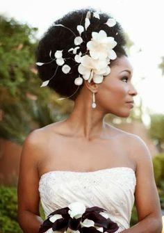Bem casados   Paula Montalvão: Penteados para noivas Negras