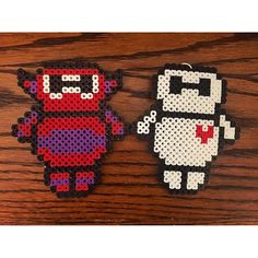 Baymax - Big Hero 6 perler beads by muuchpizza