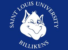 "Saint Louis University November 16 1818 (Billikens) ""to the greater glory of God"" St Louis Missouri"