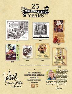 Anniversary ad, full page in Phoenix Home & Garden Magazine, April 2014