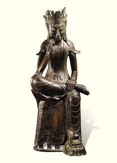 [Three Kingdoms Period (Late 6th century) ] Pensive Bodhisattva | Korea