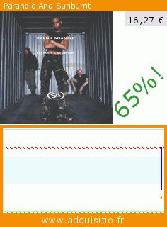 Paranoid And Sunburnt (CD). Réduction de 65%! Prix actuel 16,27 €, l'ancien prix était de 46,72 €. Par Skunk Anansie. https://www.adquisitio.fr/virgin-germany-1-little/paranoid-and-sunburnt