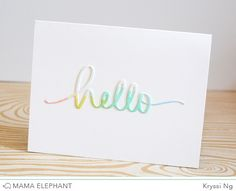 April Soft Release First Look - mama elephant | design blog