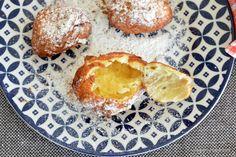 gogosi cu lingura din aluat oparit reteta de gogosele pripite Romanian Food, Dessert Recipes, Desserts, Cake Cookies, Muffin, Homemade, Breakfast, Sweets, Postres