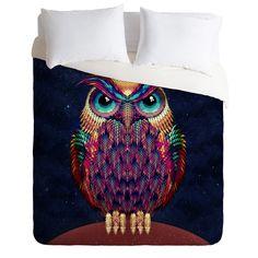 Ali Gulec Owl 2 Duvet Cover | DENY Designs Home Accessories
