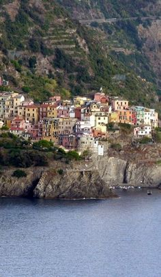 CInque Terre - the most stunning place I have ever visited. Information about visiting all 5 towns how to get here and everything else you need to know to make a dream come true by visiting this gem www.wheressharon....
